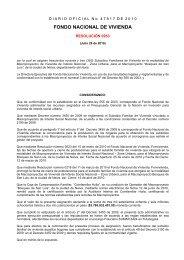 FONDO NACIONAL DE VIVIENDA - Camacol