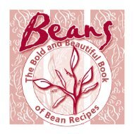 The Bold and Beautiful Book of Bean Recipes - Health Education ...