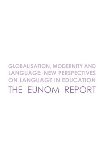 The eUNoM reporT - IN3 - Universitat Oberta de Catalunya