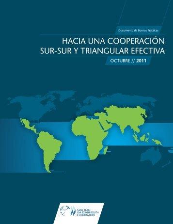 hacia una cooperación sur-sur y triangular efectiva - Ning