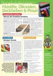 Produktblätter - Umweltprofis