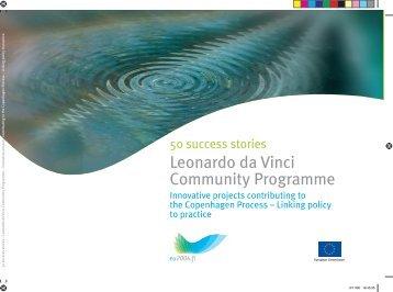 50 success stories: Leonardo da Vinci - Community Programme