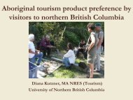 Aboriginal Tourism - LinkBC
