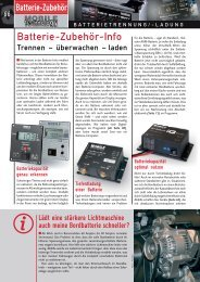 Batterie-Zubehör-Info - Esomatic.de