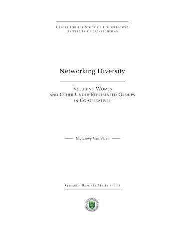 Network Diversity - Centre for the Study of Co-operatives