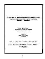 Fortified Milk Programme - Vanbandhu Kalyan Yojana - Government ...