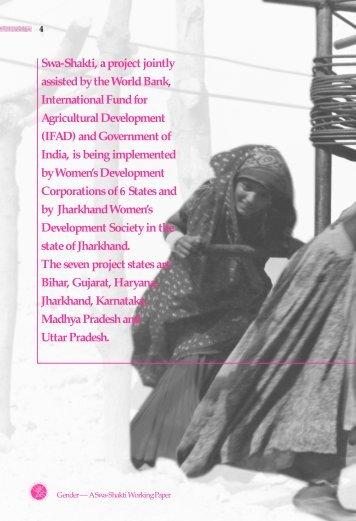 A Swa-Shakti Working Paper - Vanbandhu Kalyan Yojana