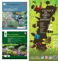 Brochure Parcs et jardins en Alsace - Agence de Développement ...