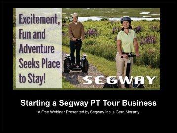 Starting a Segway PT Tour Business