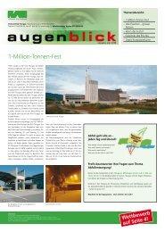 Ausgabe Mai 2006 - beim Verband KVA Thurgau