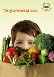 Tätigkeitsbericht 2011 auf Seiten 24-29 (PDF) - Children for a better ...