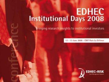 Hedging wage inflation - EDHEC-Risk