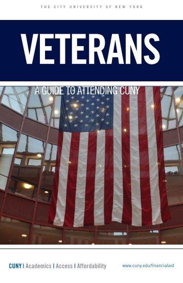 Veterans Brochure - CUNY