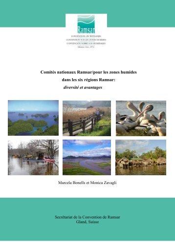 Comités nationaux Ramsar/pour les zones humides dans les six ...