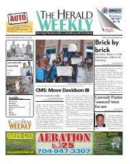 Aeration - Carolina Weekly Newspapers
