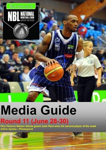 Round 11 (June 28-30) - Basketball New Zealand