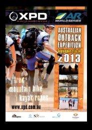Team Information Pack 1 - XPD Flinders Ranges 2013