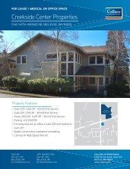 Creekside Center Properties