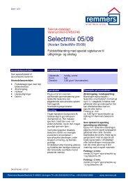 Teknisk datablad - Remmers (DK)