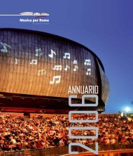 Rapporto annuale 2006 - Auditorium Parco della Musica
