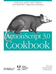 ActionScript 3.0 Cookbook - O'Reilly Media