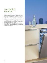 Catálogo General Lavavajillas - Siemens