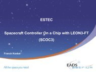Slides - Microelectronics - ESA