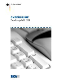Bundeslagebild Cybercrime 2011 - Compliance Praxis