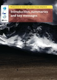 Perspectives on Water and Climate Change Adaptation • 0 ...