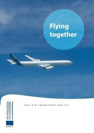 Flying together: EU air transport policy