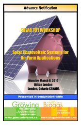 SOLAR 101WORKSHOP Solar Photovoltaic Systems for On-Farm ...