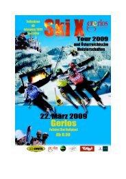 Wichtige Hinweise Skicross Tour 2009 und Österreichische ...