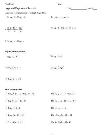 Rational Exponents Worksheet Precalculus - Intrepidpath