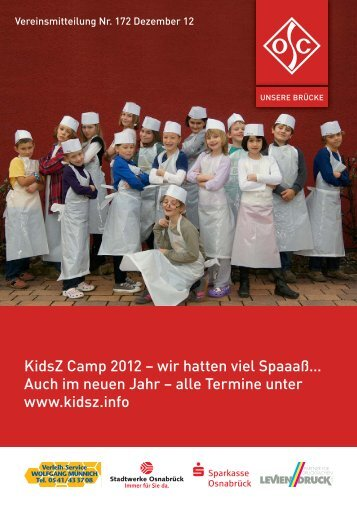 KidsZ Camp 2012 – wir hatten viel Spaaaß… - Osnabrücker ...