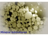 Mineral Admixtures - Civil and Environmental Engineering