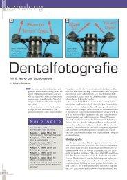 Dentalfotografie - Wirtschaftsverlag.at