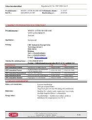 Säkerhetsdatablad (MSDS) (45.4 KB - pdf) - Jula
