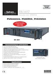 BK1657 FR - Sefram
