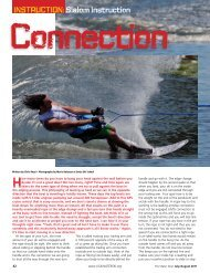 INSTRUCTION: Slalom Instruction Connection - USA Water Ski