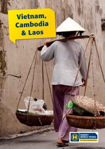 Vietnam, Cambodia & Laos - Harvey World Travel