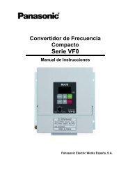 Serie VF0 - Panasonic Electric Works Schweiz AG