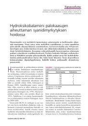 Hydroksikobalamiini palokaasujen aiheuttaman ... - Duodecim