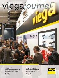 Viega journal 1 2013