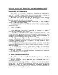 Descarca statutul SRH in format PDF - Societatea Română de ...