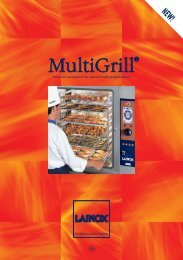 Exclusive accessories for special cooking applications GB - Lainox