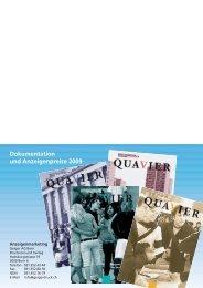 Anzeigenpreise 2009 - QuaVier