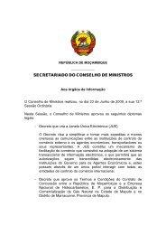 (12 SOCM) 12ª Sessão Ordinária - 23 de Junho de 2009 - Portal do ...