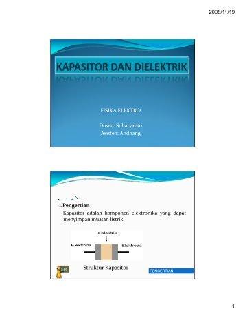 .A KAPASITOR - Teknik Elektro UGM