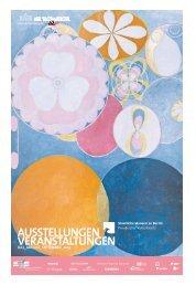 ausstellungen veranstaltungen - Staatliche Museen zu Berlin