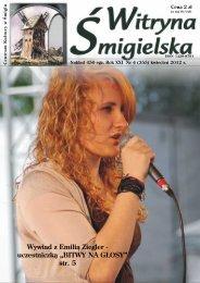 Wywiad z Emili¹ Ziegler - Centrum Kultury w Śmiglu